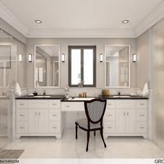 Residence,New Beach,California:  Bathroom by Ground 11 Architects