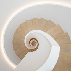 Stairs by PURE Gruppe Architektengesellschaft mbH