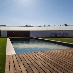 Projekty,  Basen do ogrodu zaprojektowane przez Piscinas Imperial
