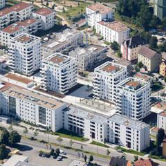 Sky Towers:  Mehrfamilienhaus von PURE Gruppe Architektengesellschaft mbH
