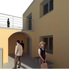 Estudo para Centro Cultural: Locais de eventos  por Luciana Ribeiro Arquiteta,