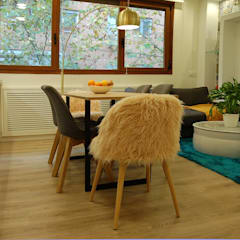 140 - Francisco Silván Arquitectura de Interior - Decoración: Casas pequeñas de estilo  de Arquitectura de Interior