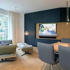Electrónica de estilo  por PURE Gruppe Architektengesellschaft mbH