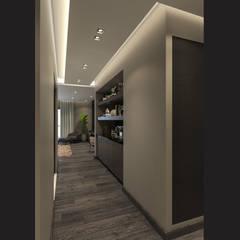 الممر الحديث، المدخل و الدرج من ICONIC DESIGN STUDIO حداثي