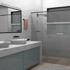 حمام تنفيذ YasminK Arquitetura