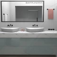 Bancada: Banheiros  por YasminK Arquitetura
