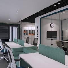 :  مكتب عمل أو دراسة تنفيذ ICONIC DESIGN STUDIO, حداثي