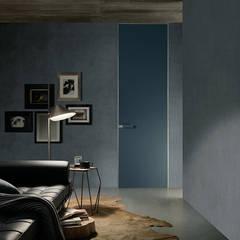 Rimadesio Moon deur kamerhoog en kozijnloos:  Glazen deuren door Noctum