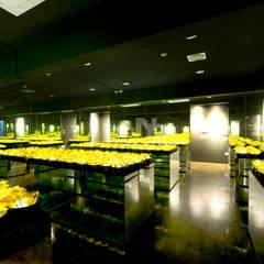전주인테리어-전주상업공간인테리어 현대옥 본점 아트스페이스(KONGNAMUL): 내츄럴디자인컴퍼니의  상업 공간