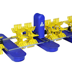 Paddle wheel aerator:  Garden Pond by Taizhou Jinhu Mechanical & Electrical Co. LTD