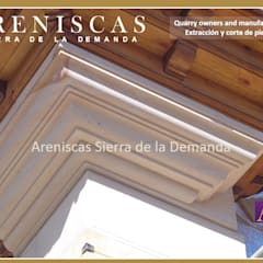 Hotels by Areniscas Sierra de la Demanda   - ◉ - SIERRA  Buff  Sandstone  quarries in  Spain