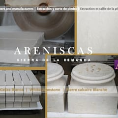 Museums by Areniscas Sierra de la Demanda   - ◉ - SIERRA  Buff  Sandstone  quarries in  Spain