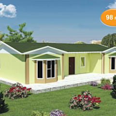 Prefabricated home by EMİN PREFABRİK DOĞU, Classic