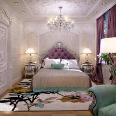Проект №1: Спальни в . Автор – Laura Sharipova Designs