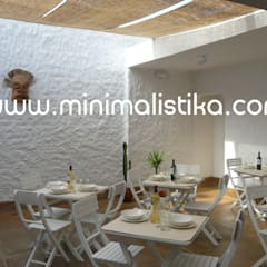 Restaurantes de estilo  por Minimalistika.com