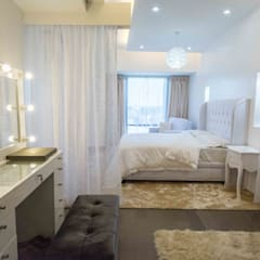 Botanika Nature Residences / Filinvest Group:  Small bedroom by TG Designing Corner