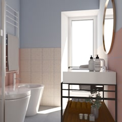 FLAT CS16: Bagno in stile  di Rstudio Design