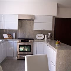 Built-in kitchens by Cocinas Ciao Torreón
