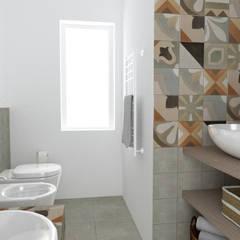 FLAT B07: Bagno in stile  di Rstudio Design