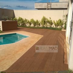 Garden Pool by Plastmad - Madeira Plástica, Rustic