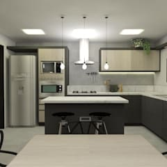 Kitchen units by CG arquitetura e interiores,