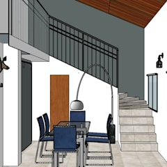 Casa Musico: Livings de estilo  por G.S interiores