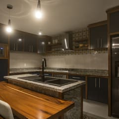 Rustic style kitchen by Soma & Croma Rustic