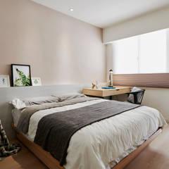 減法生活:  臥室 by 耀昀創意設計有限公司/Alfonso Ideas