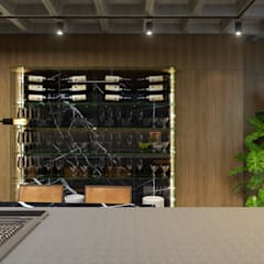 Wine cellar by Maicon Ramos arquitetura