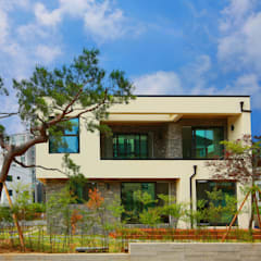 [경북 경산시] 작은정원 '중정'을 품다: 한글주택(주)의  테라스 주택