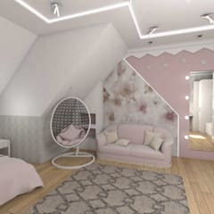 Cuartos para niñas de estilo  por студия дизайна Ольги ковалевой