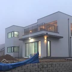 [현장라이브] 경기도 양평군 전원주택 시공현장: 한글주택(주)의  전원 주택