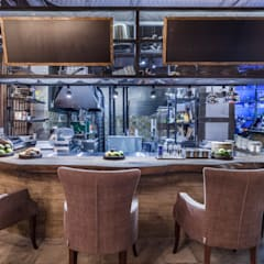 Ресторан LOFT17: Ресторации в . Автор – Студия интерьерного дизайна MEL