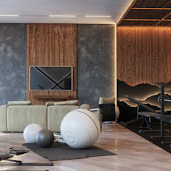 Ruang Fitness by Buro Lampa