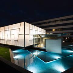 قاعة مؤتمرات تنفيذ  a2 Studio Gasparri e Ricci Bitti Architetti associati