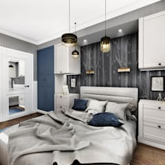 Small bedroom by LESINSKA CONCEPT