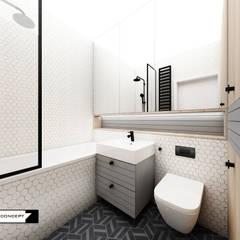 APARTAMENT W KRATKĘ: styl , w kategorii Łazienka zaprojektowany przez LESINSKA CONCEPT