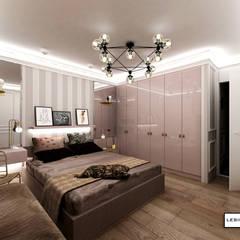 APARTAMENT TRANSATLANTYK: styl , w kategorii Sypialnia zaprojektowany przez LESINSKA CONCEPT,