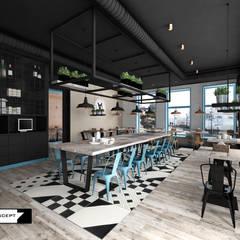 RESTAURACJA TARG RYBNY: styl , w kategorii Gastronomia zaprojektowany przez LESINSKA CONCEPT,