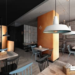 RESTAURACJA TARG RYBNY: styl , w kategorii Gastronomia zaprojektowany przez LESINSKA CONCEPT