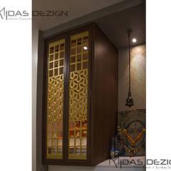 3BHK @ Alta Monte Malad (East):  Corridor & hallway by Midas Dezign,Modern