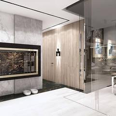 GOLDEN MEAN   I   Wnętrza domu: styl , w kategorii Korytarz, przedpokój zaprojektowany przez ARTDESIGN architektura wnętrz