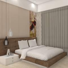 اتاق خواب توسطMidas Dezign, مدرن