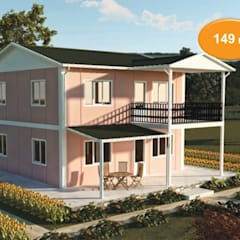 Prefabricated Home by EMİN PREFABRİK DOĞU,