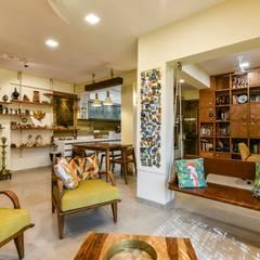 Living room by Dezinebox