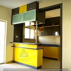 Kitchen units by Meticular Interiors LLP, Modern