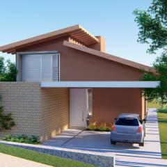Casa Pomar: Casas do campo e fazendas  por ARAMADO arquitetura+interiores