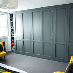 Renovation of Grade II listed building:  Dressing room by Nordic Sky Limited