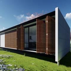 บ้านขนาดเล็ก by WA Projeto + Sustentável