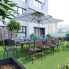 Phong cách Hiện đại (Modern style) trong thiết kế nội thất căn hộ Vinhomes:  Vườn by ICON INTERIOR